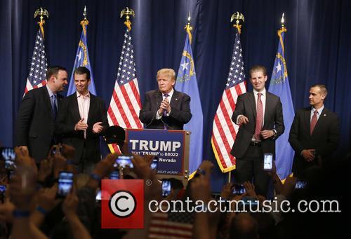 Donald Trump Jr, Donald J Trump and Eric Trump