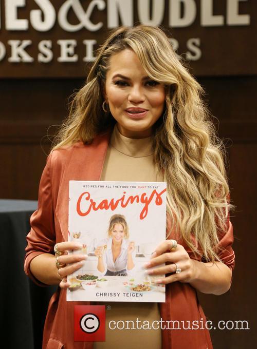 Chrissy Teigen Book Signing For