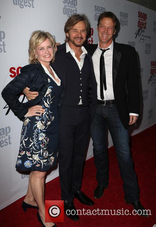 Mary Beth Evans, Stephen Nichols and Matthew Ashford 2