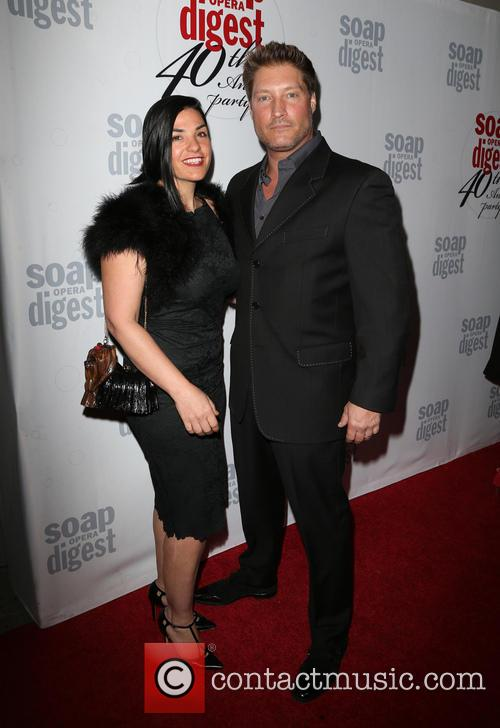 Michele Vega and Sean Kanan 1