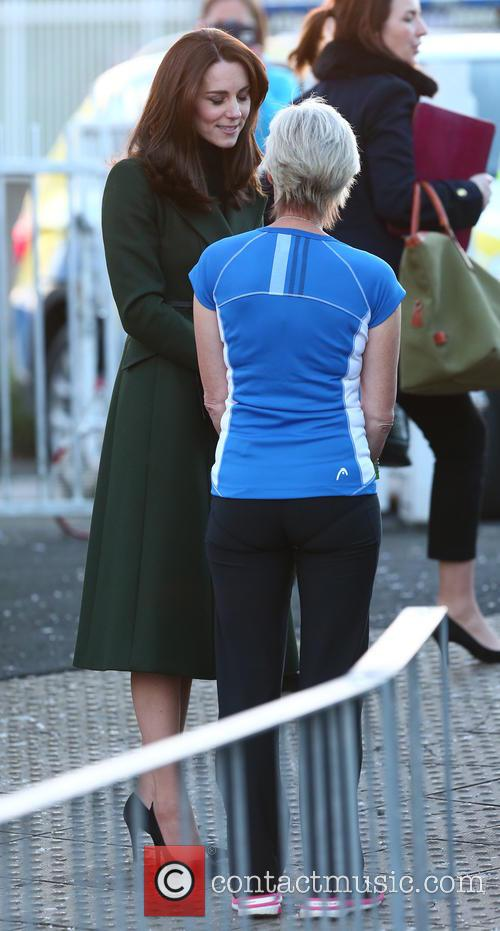 Catherine, Duchess Of Cambridge, Kate Middleton and Judy Murray 4