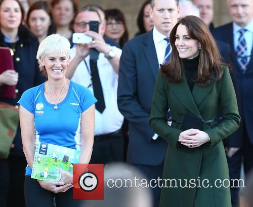 Catherine, Duchess Of Cambridge, Kate Middleton and Judy Murray 10