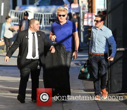 Gordon Ramsay is in Hollywood for an appearance...