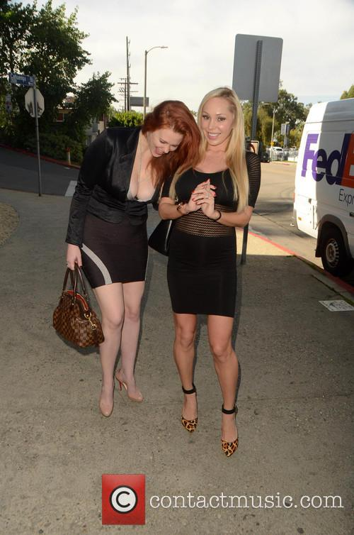 Odd couple Maitland Ward and Mary Carey spotted...
