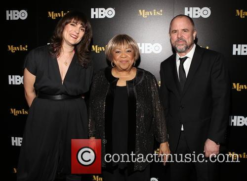 Jessica Edwards, Mavis Staples and Gary Hustwit 1