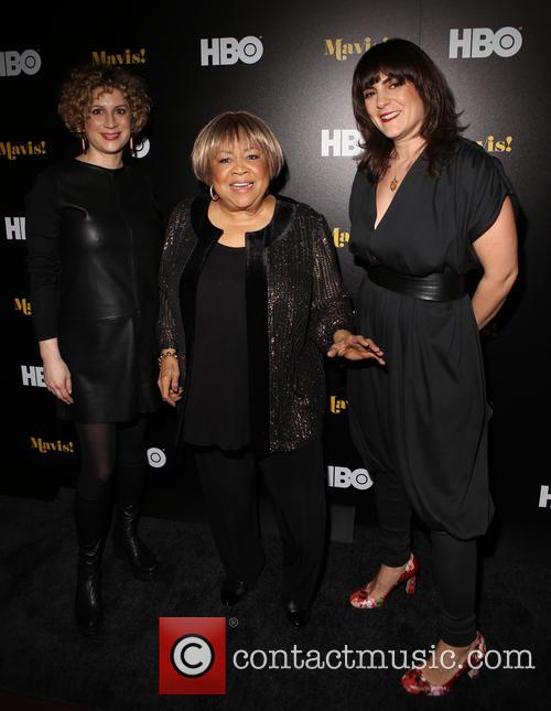 Sara Bernstein, Mavis Staples and Jessica Edwards 1