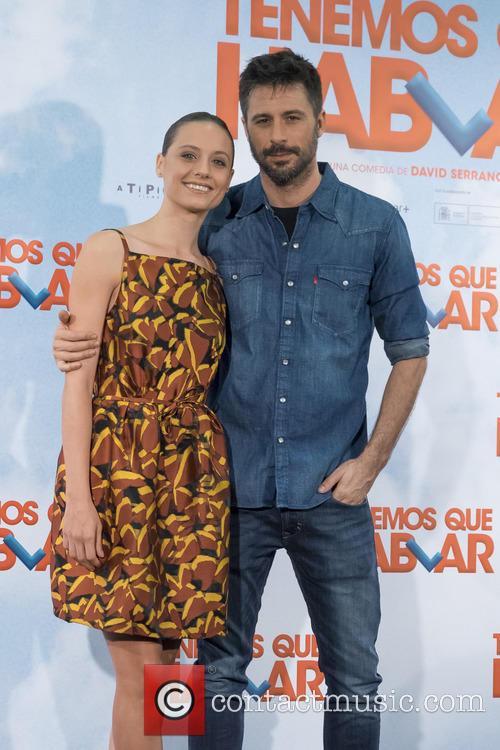 Hugo Silva and Michelle Jenner 1