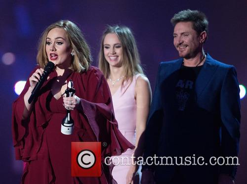 Adele Adkins, Suki Waterhouse and Simon Le Bon 5