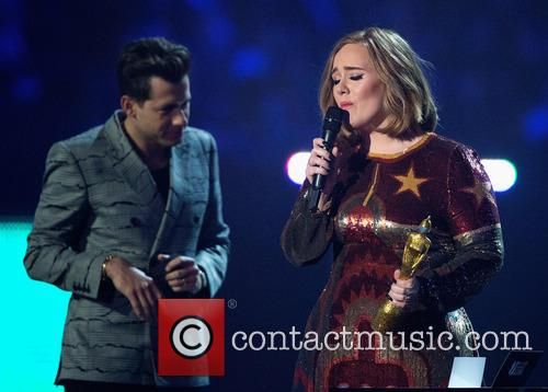 Mark Ronson and Adele Adkins