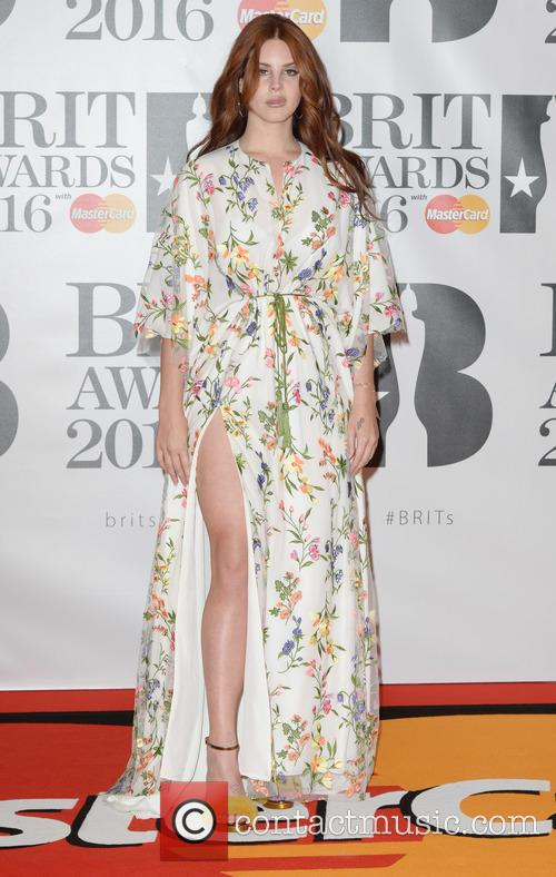 Lana Del Rey at the Brit Awards