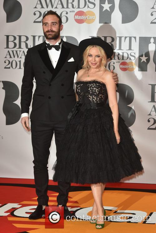 Joshua Sasse and Kylie Minogue 2