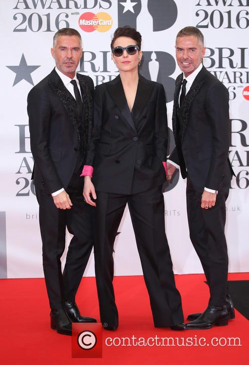 Noomi Rapace, Dan Caten and Dean Caten 2
