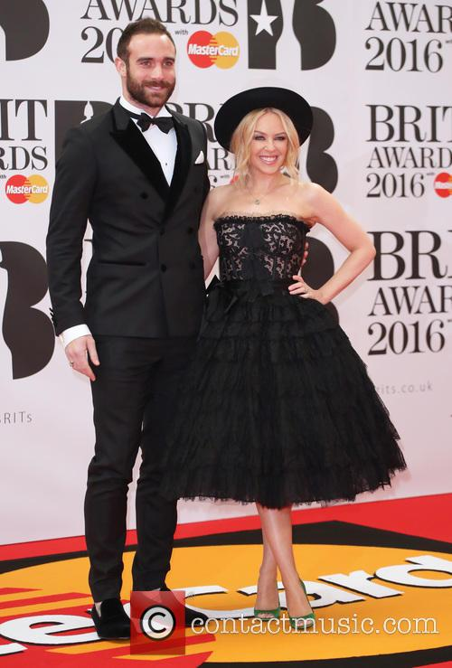 Kylie Minogue and Joshua Sasse 2