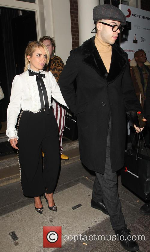 Celebs pictured leaving the Sony Music Brit Awards...