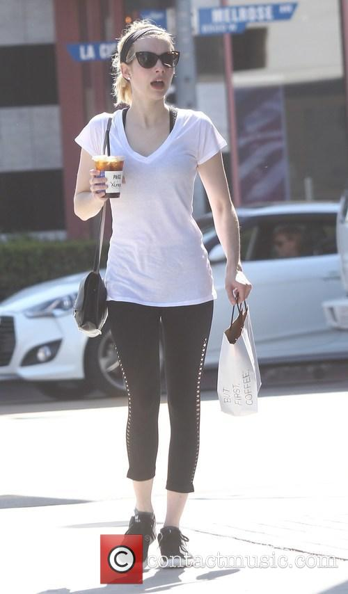 Emma Roberts out and about