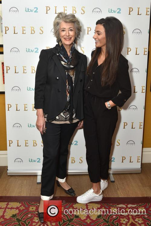 Michelle Keegan and Maureen Lipman 1