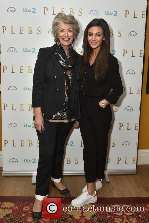 Michelle Keegan and Maureen Lipman 2