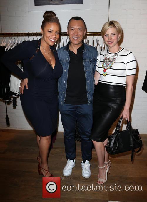 Lauren Makk, Joe Zee and Leah Ashley 2