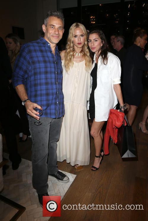Brad Beckerman, Rachel Zoe and Chase Beckerman 1