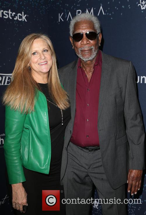 Morgan Freeman and Guest 7