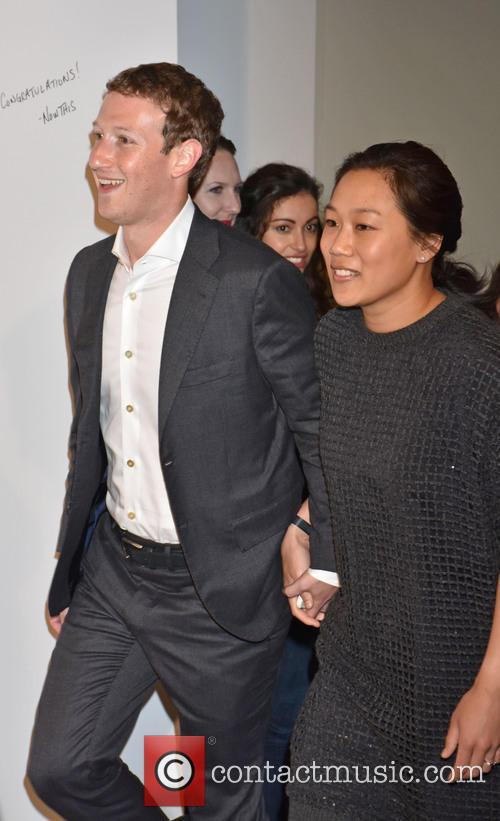 Priscilla Chan and Mark Zuckerberg 1