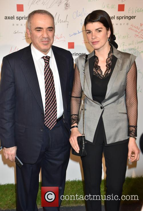 Garry Kasparov and Daria Kasparov 1