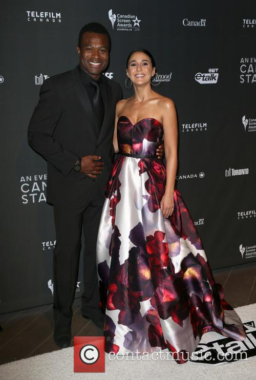 Lyriq Bent and Emmanuelle Chriqui 1