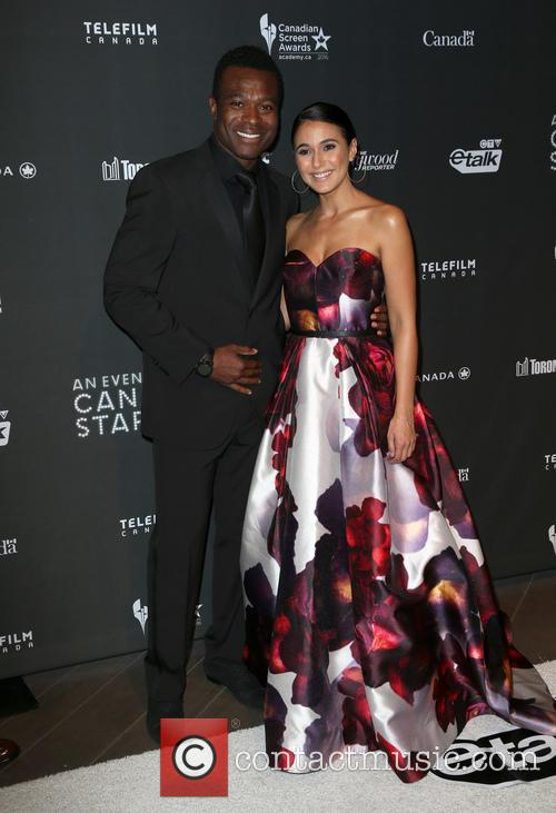 Lyriq Bent and Emmanuelle Chriqui 2