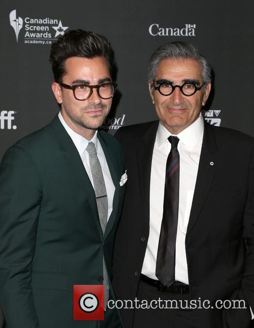 Daniel Levy and Eugene Levy 2