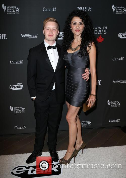 Noel Fisher and Layla Alizada