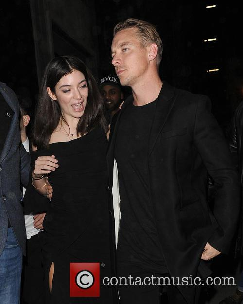 Lorde, Ella Marija Lani Yelich-o'connor, Diplo and Thomas Wesley Pentz 4