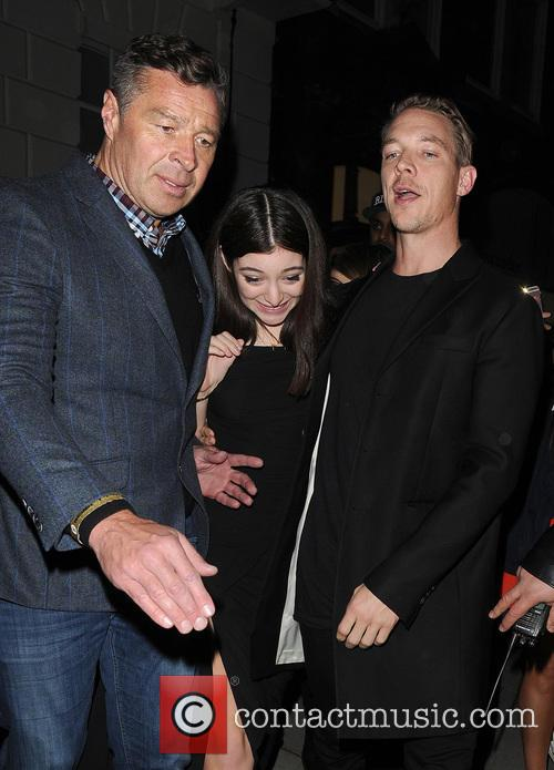 Lorde, Ella Marija Lani Yelich-o'connor, Diplo and Thomas Wesley Pentz
