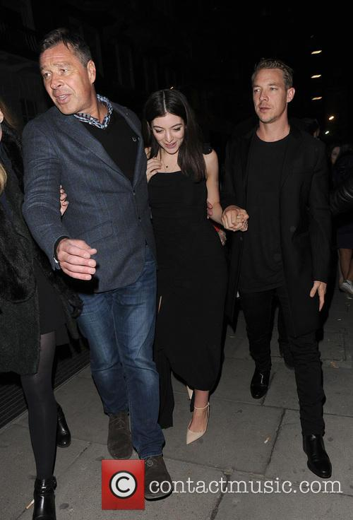 Lorde, Ella Marija Lani Yelich-o'connor, Diplo and Thomas Wesley Pentz 10