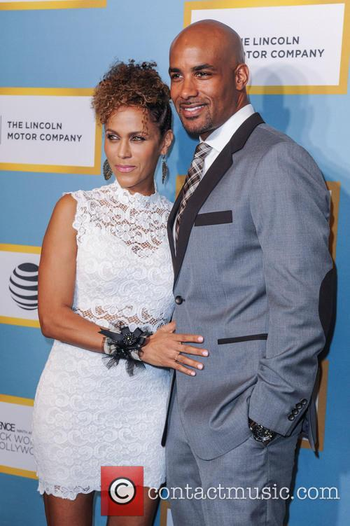 Nicole Ari Parker and Boris Kodjoe 2