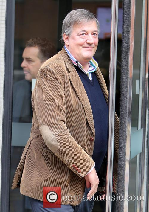 Stephen Fry Quits As Baftas Host After 12 Years