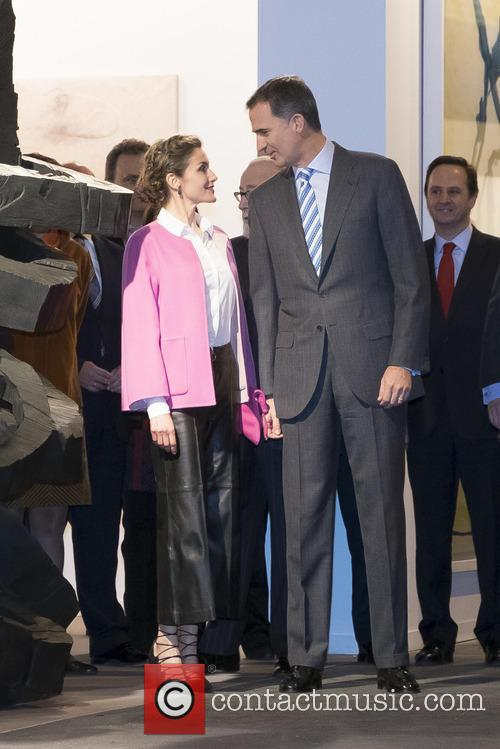 Spain's King Felipe Vi and Queen Letizia 2