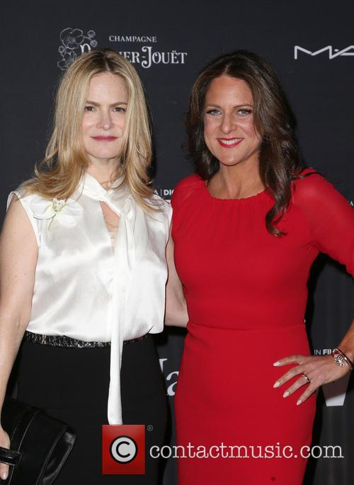 Jennifer Jason Leigh and Cathy Schulman 4