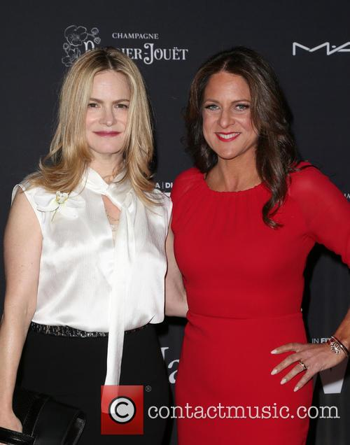Jennifer Jason Leigh and Cathy Schulman 5