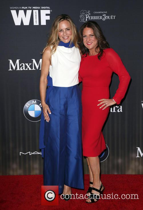 Maria Bello and Cathy Schulman 1