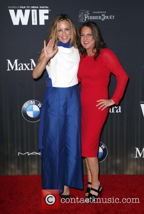 Maria Bello and Cathy Schulman 2