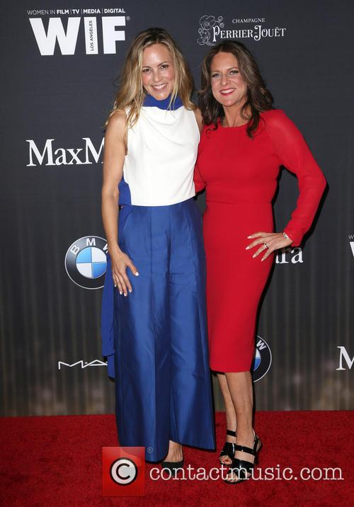 Maria Bello and Cathy Schulman 7