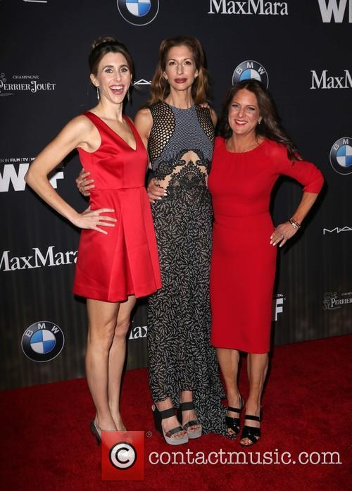 Sarah Megan Thomas, Alysia Reiner and Cathy Schulman 6