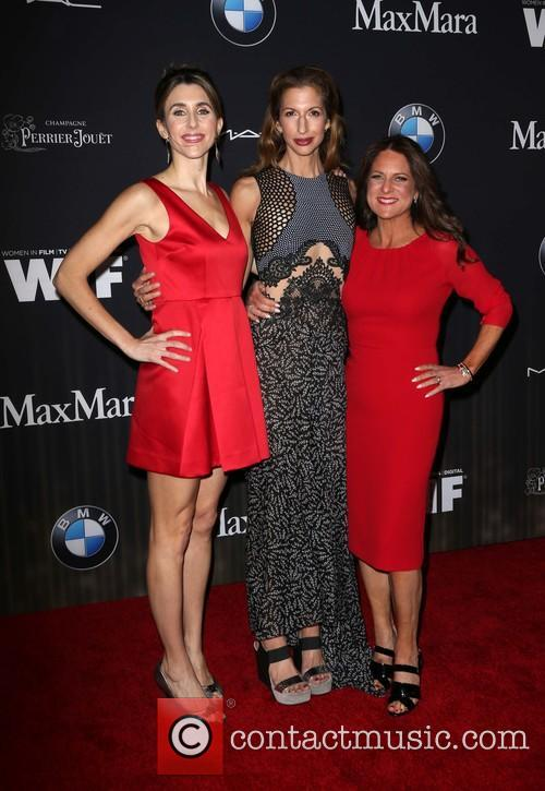 Sarah Megan Thomas, Alysia Reiner and Cathy Schulman 9