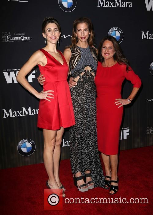 Sarah Megan Thomas, Alysia Reiner and Cathy Schulman 10