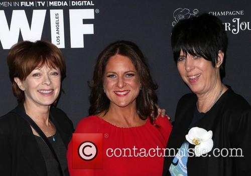 Frances Fisher, Cathy Schulman and Diane Warren 1