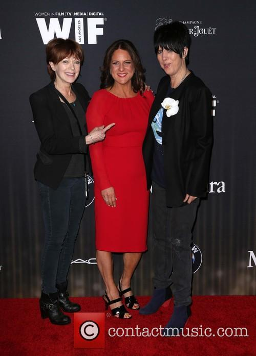 Frances Fisher, Cathy Schulman and Diane Warren 2