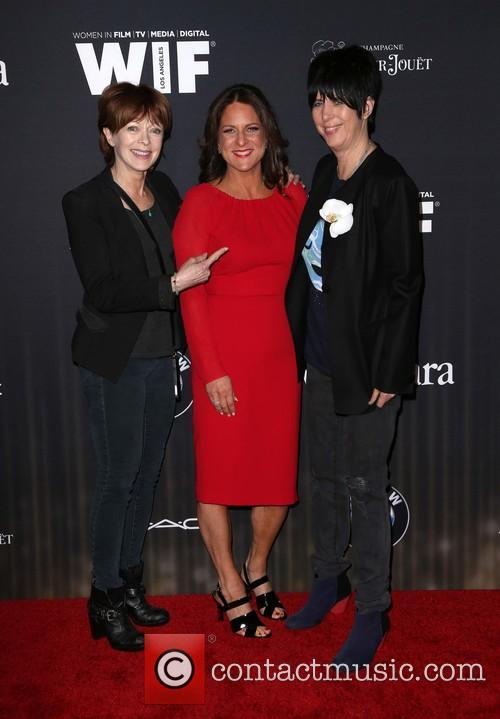 Frances Fisher, Cathy Schulman and Diane Warren 3