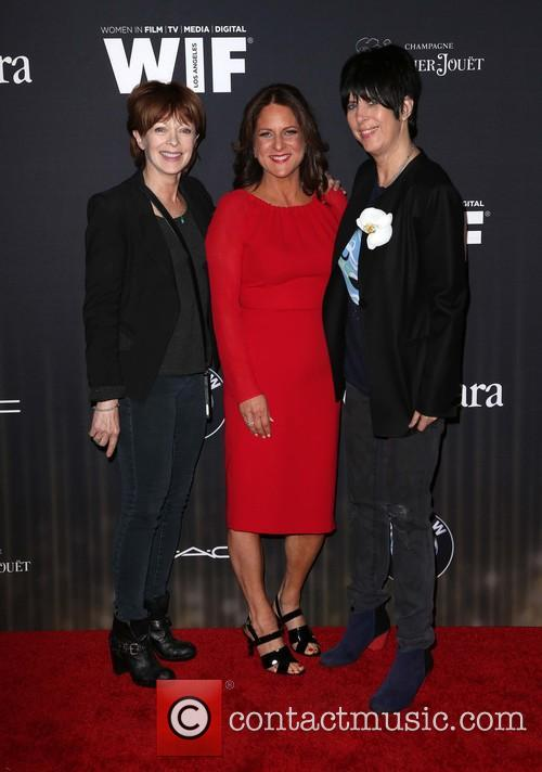 Frances Fisher, Cathy Schulman and Diane Warren 4