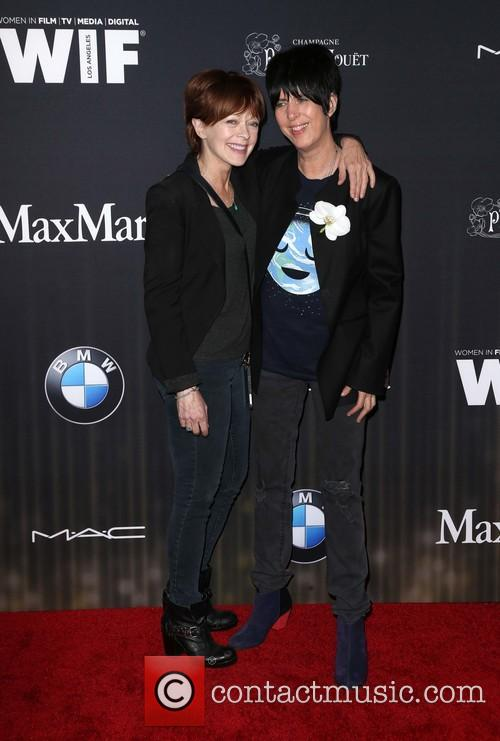 Frances Fisher and Diane Warren 8