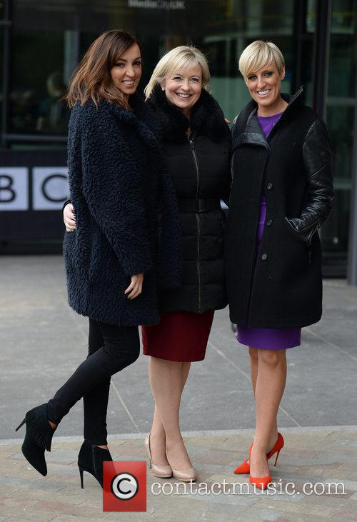 Sally Nugent, Carol Kirkwood and Steph Mcgovern 2